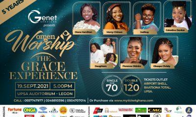 Diana Hamilton, Mercy Chinwo, Judikay, Obaapa Christy, Florence Obinim, Celestine Donkor & Daughters Enlist For Women In Worship 2021.